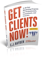 Get Clients Now Book 3rd Edition