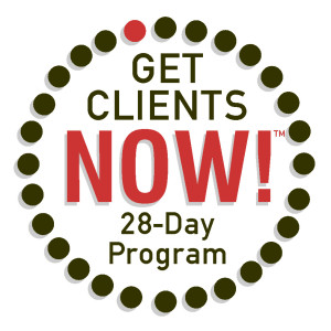 Get Clients Now! Immersion Program