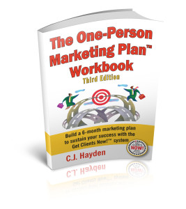 The One-Person Marketing Plan Workbook