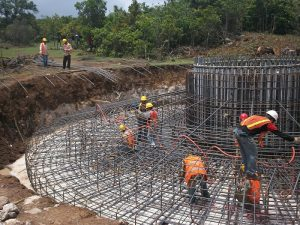 Constructing foundation
