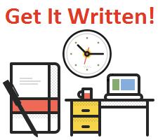 Get it written!